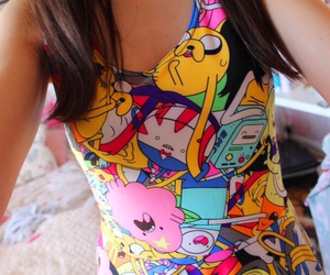 dress, adventure time, and girly image