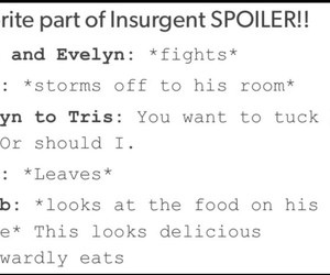 funny, insurgent, and spoiler image