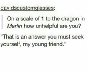 dragon, lol, and merlin image