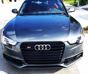 audi, blue, and gray image