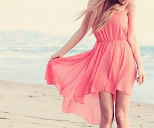 dress, beach, and summer image