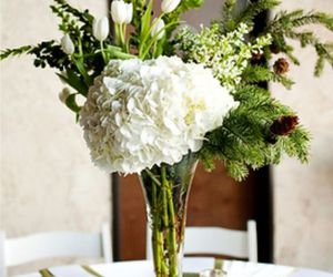 centrepiece and white image