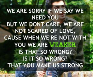 strong, 1d, and zayn image