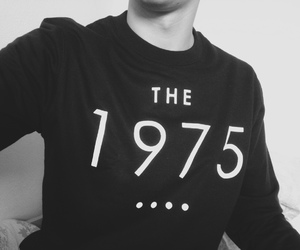 the 1975, black, and grunge image