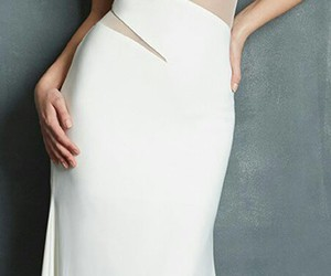 evening gown, wedding dress, and prom dress image
