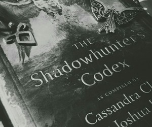 codex, shadowhunters, and the mortal instruments image