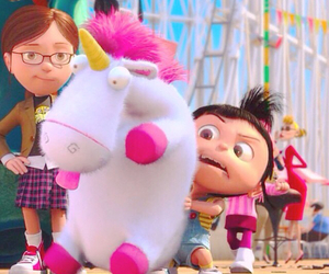 cartoon, unicorn, and despicableme image