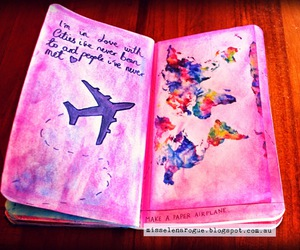 art, wreck it journal, and tumblr image