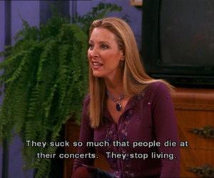 friends, phoebe, and quote image