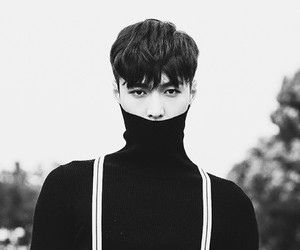 black and white, Chen, and edit image