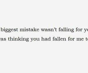love, quote, and mistakes image