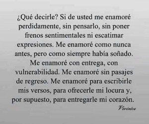 amor, frases, and inlove image