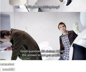 doctor who, supernatural, and funny image