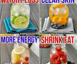 fitness, healthy, and drink image
