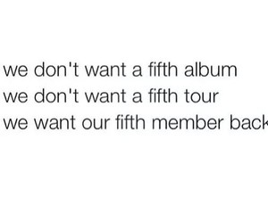one direction, fifth album, and fifth tour image