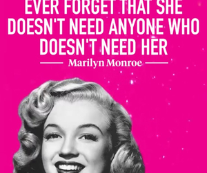 females, marilynmonroe, and quote image