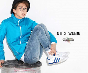 adidas, winner, and lee seunghoon image