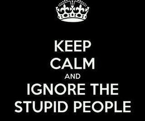 keep calm, stupid, and people image