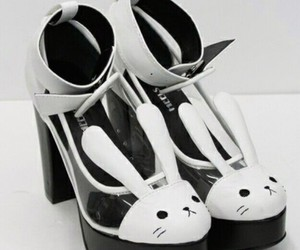 shoes, kawaii, and bunny image