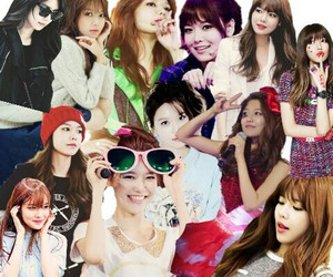 Collage, kpop, and snsd image