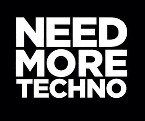 techno, music, and love image