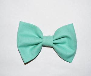 blue, bow, and girly image