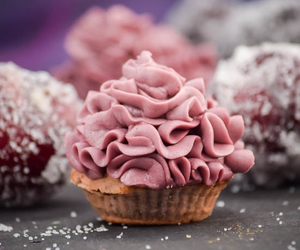 dessert, cupcake, and food image