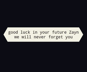 good luck, one direction, and zayn malik image