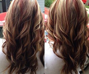 curly hair, fashion, and hair style image