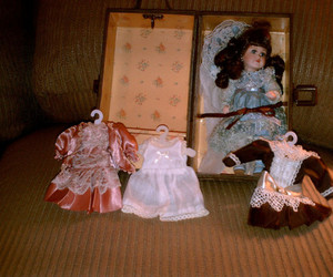 doll and porcelain doll image