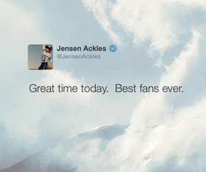 Jensen Ackles, wallpaper, and love image