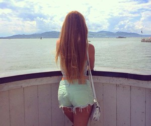 girl, hair, and places image