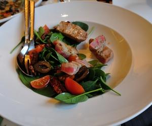 food porn, tuna, and tuna salad image
