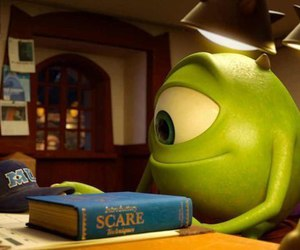 mike, disney, and monsters university image