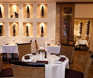 design, restaurant, and african style image