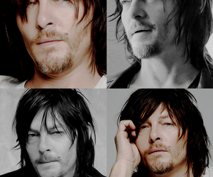 norman reedus, twd, and cute image