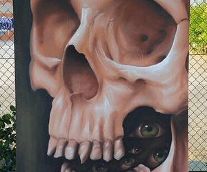 dark, eyes, and painting image