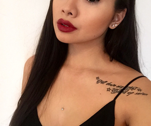 asian, selfie, and lips image