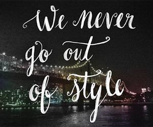 style, Taylor Swift, and Lyrics image
