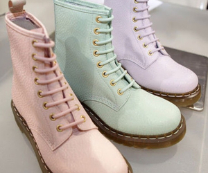 shoes, pastel, and boots image