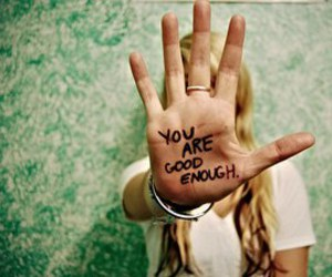 hand, good, and quote image