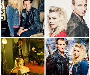 doctor who, rose tyler, and nine doctor image
