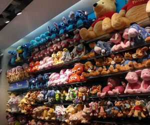 disney, stuffed animals, and cute image