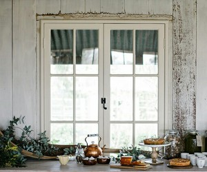window, home, and vintage image