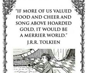 jrr tolkien, lord of the rings, and quotes image