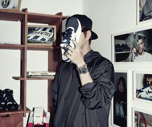 air max, nike, and korean actor image