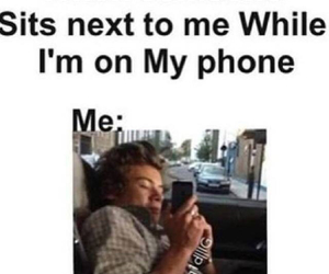 phone, Harry Styles, and funny image