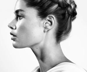 model, Doutzen Kroes, and hair image