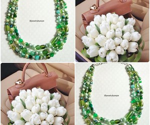 chic, girly, and necklace image