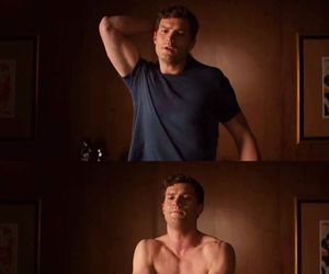 Jamie Dornan, fifty shades of grey, and anastasia steele image